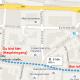 Route vom Schlössle Galerie zu C&A