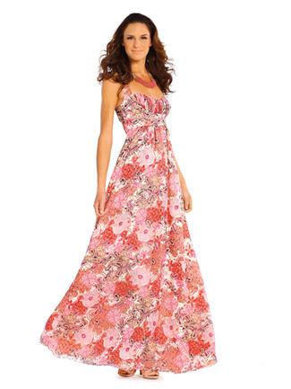 Ein buntes, festliches Sommerkleid - (Kleidung, Klamotten, Style)
