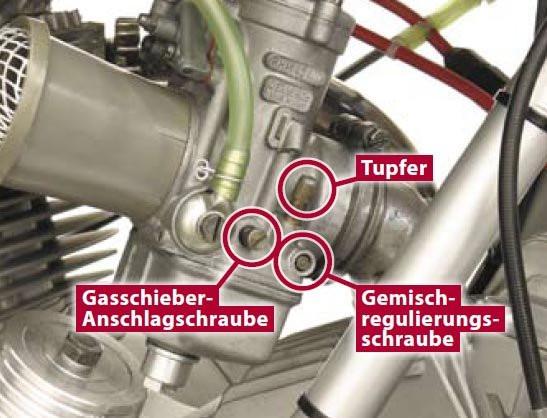 Vergaser einstellung - (Motorrad, Einstellungen, Motor)