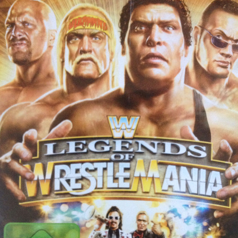 Legends of Wrestle Mania  - (Spiele, Gaming, PS3)
