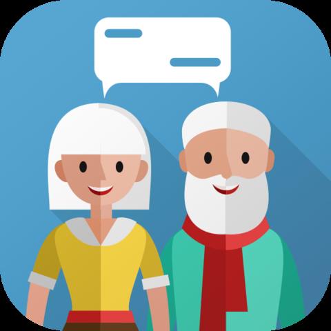 Seniorenchat App - (Einsamkeit, Senioren, alte Menschen)