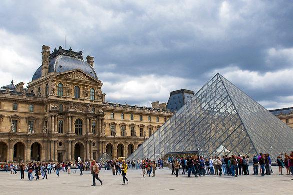 Paris ist sogar schön, wenn es mal regnet. Vor ca. 6 Wochen! ;) - (Urlaub, Ferien, Stadt)