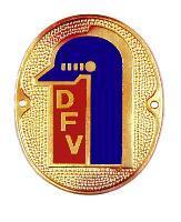 DFV - Autometallplakette - (Landwirtschaft, Feuerwehr)