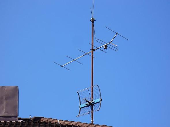 Dachantenne - (TV, Fernsehen, Sender)