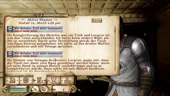 Wo Sieht Man Bei Oblivion Seinen Quests Bzw Wie Kann Man Sie