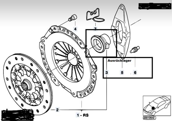 Kupplung 1 - (Auto, Getriebe)