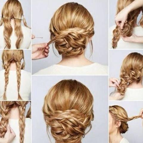 Frisuren Jugendweihe Anleitung Mittellange Haare