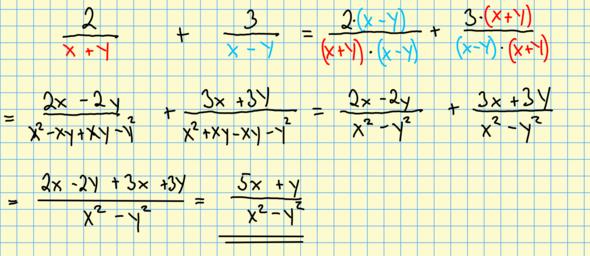- (Mathematik, Rechnen, Bruch)