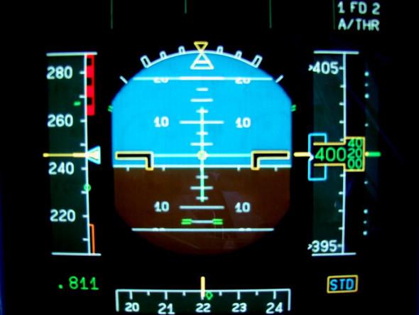PFD A320 - (Gaming, Flugzeug, Geschwindigkeit)