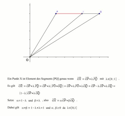 Punkte eines Segments - (Mathematik, Geometrie)