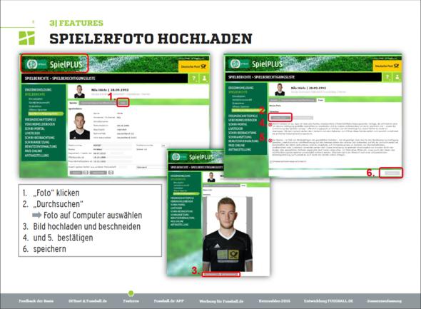 Spielerfoto hochladen - (Fußball, Verein, DFB)