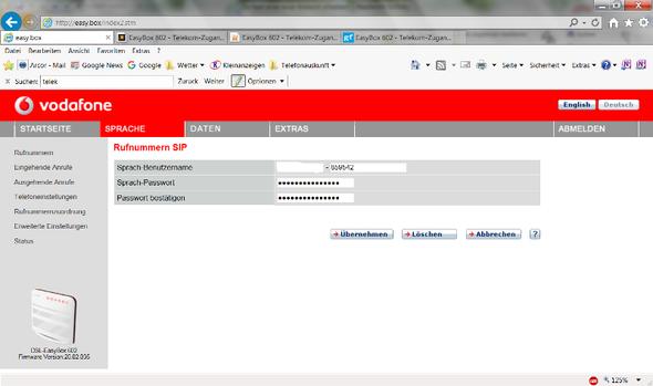 - (Router, Vodafone)