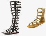 Gladiatoren stiefel - (Schuhe, Kleid)