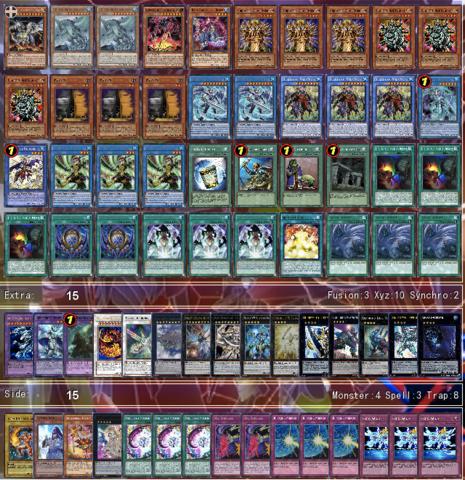 Nekroz Kaiju - (Yugioh, Yu-gi-oh)