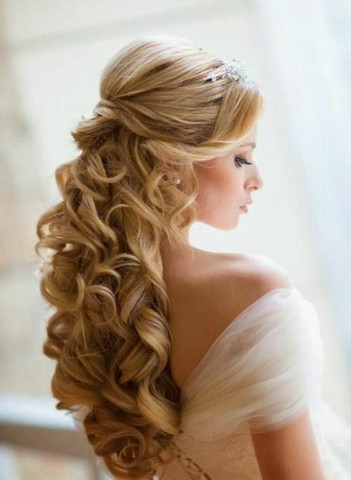 Halboffen - (Haare, Beauty, Frisur)