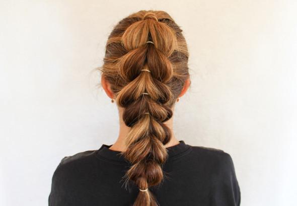Pull-Through Braid - (Schule, Frisur, lange Haare)