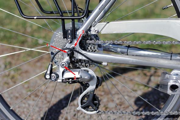 Schaltung - (Fahrrad, Reparatur, Verkehr)