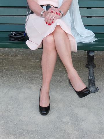 Ob Ihrs glaubt oder nicht, ich trage hier eine Strumpfhose ;-) - (Mode, Fashion)