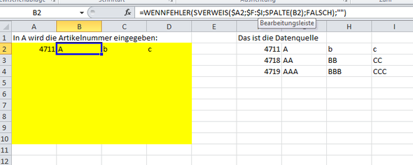 - (Excel, Tabelle)
