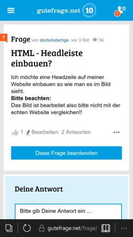 - (programmieren, html, Kopf)