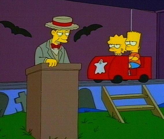 Das Schreimatorium von Dr. Albtraumstein - (Serie, Simpsons, Folge gesucht)