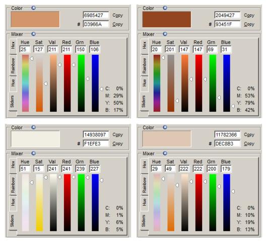 Farbanalyse (Quelle: GF/electrician) - (Farbe, Wandfarbe)