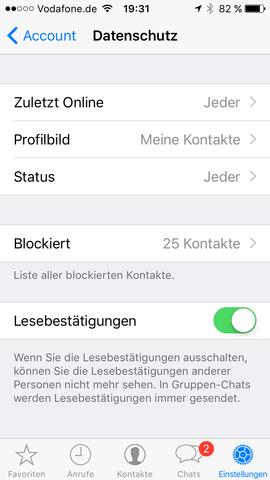 - (WhatsApp, Messenger)