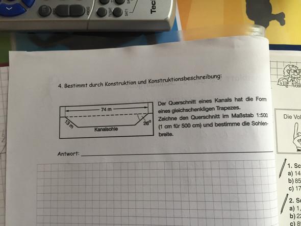 - (Mathe, Trapez gleichschenklig)