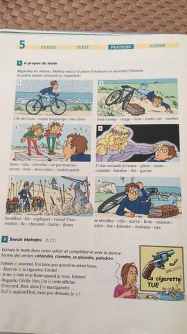 Aufgabe 1 - (franzoesisch, 8.klasse)