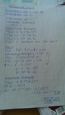 Das hier meinte ich... - (Schule, Mathe, Ableitung)
