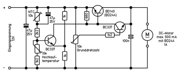 - (Elektronik, Lüfter, 12V)