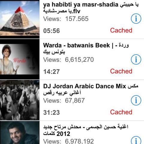 Schöne Arabische Lieder