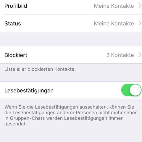 Whatsapp Profilbild Für Eine Person Nicht Sichtbar Machen