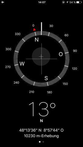 Kompass - (Handy, Apple, iPhone)