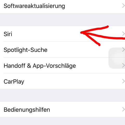 Da musst du dann drauf - (iPhone, Apple, siri)