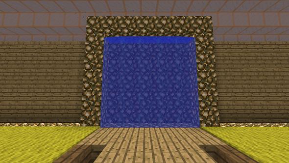 Hier ein kleines bild wie das Portal dann aussehen kann - (Minecraft, Server, Plug-in)