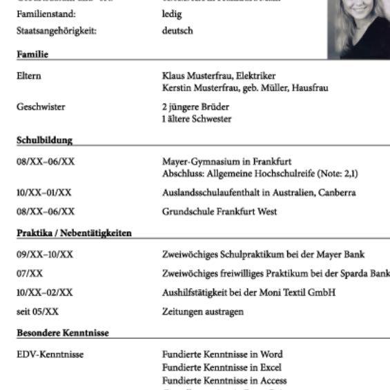 Was Kann Man Alles In Einen Lebenslauf Schreiben. Lebenslauf Muster Vorlagen Word. Lebenslauf Tabellarisch Vorlage Ausbildung. Lebenslauf Schweiz Download. Lebenslauf Vorlagen Word Gratis. Lebenslauf Layout Modern Kostenlos. Lebenslauf Ausbildung Vorlagen Kostenlos. Lebenslauf Schreiben Klasse 8. Lebenslauf Word Seite Einrichten