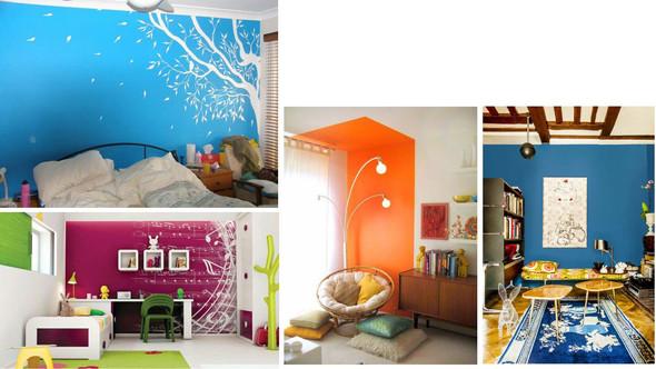 - (Haus, Wohnung, Farbe)