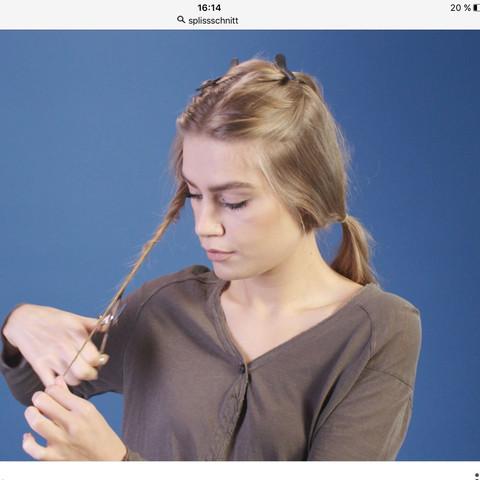 Beispiel - (Haare, kaputt, trocken)