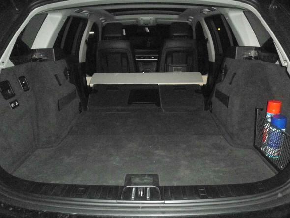 E91 Umgeklappte Rücksitze - (Auto, Führerschein)