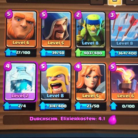 Mein arena 6 deck - (Angst, Kampf, Clash Royale)