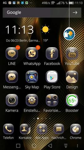 Mein Handy Mate 8 Screen Short - (Online-Shop, einkaufen)