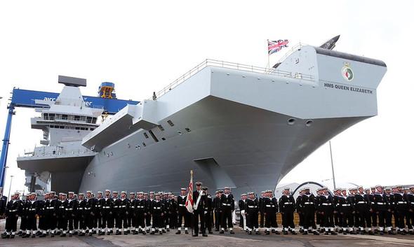 HMS Queen Elizabeth - (Politik, Wirtschaft, England)