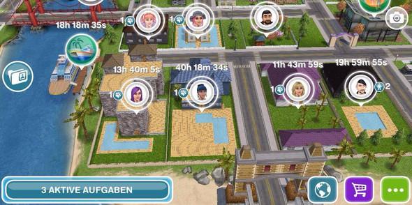 Sims Freeplay Pools Nachbarschaft - (Spiele, Google Play, Sims Freeplay)