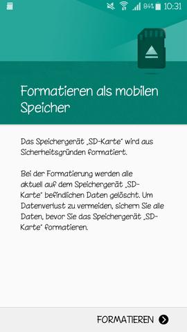 - (Handy, SD-Karte)