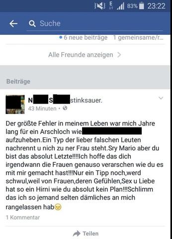 - (Facebook, Anwalt, Beleidigung)