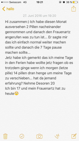 - (Pille, Tage)