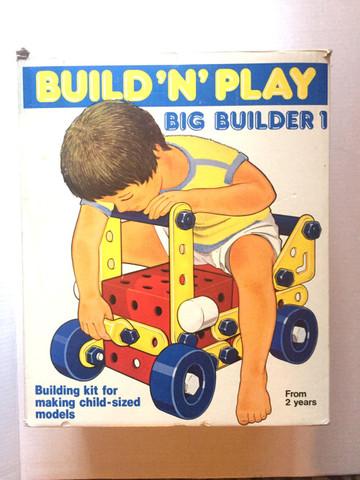 Big Builder 1 - (Spielzeug, Plastik, Schrauben)