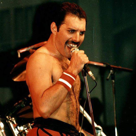 - (Queen, Freddie Mercury, Musiklegende)