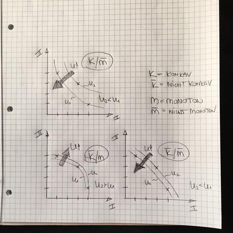 Präferenzen - (Mathe, Wirtschaft, Uni)